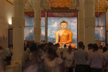 Boeddhistische tempel  von Albert van Heugten