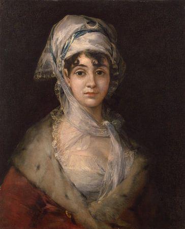 Francisco Goya - Antonia Zarate