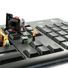 computer reparatie door little world van Compuinfoto .