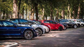 Geparkte Autos von Michael Fousert