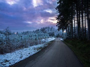 sneeuwlandschap van Picsall Photography