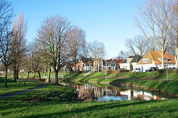 Schellingwouderdijk. Amsterdam van Willem Holle WHOriginal Fotografie