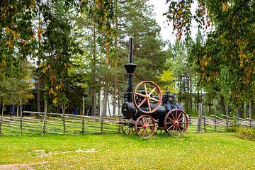Machine à vapeur portable sur Torfinn Johannessen