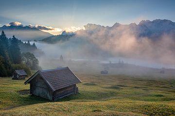 Herbstmorgen von Petra Leusmann