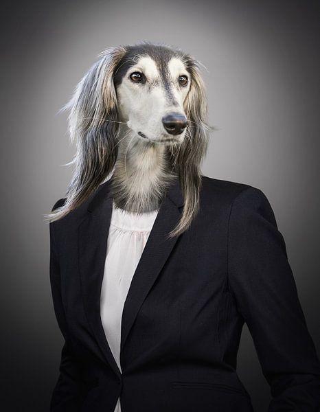 Hond in maatpak van Sarah Richter