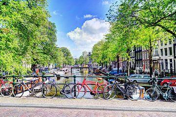 Jordaan Brouwersgracht  Amsterdamse Grachten Nederland van Hendrik-Jan Kornelis