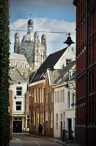 La rue Waterstraat Den Bosch sur Jasper van de Gein Photography