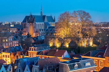 Leiden centrum van John Ouds