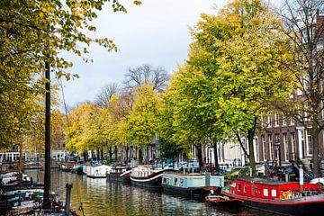 Herfst in Amsterdam van Piet van der Meer