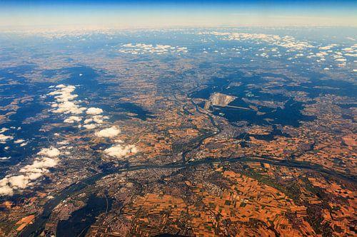 Frankfurt vanuit de lucht