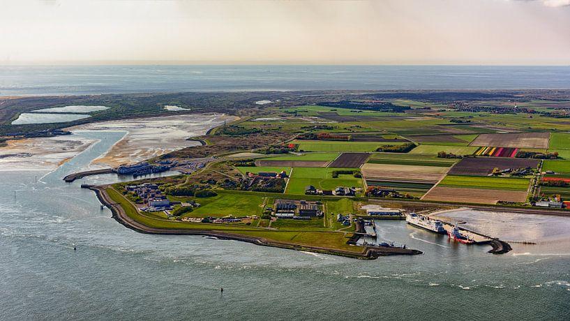 Texel havens, Mokbaai en Den Hoorn van Roel Ovinge