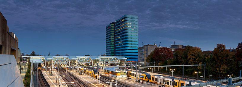 Station Arnhem panorama van Anton de Zeeuw