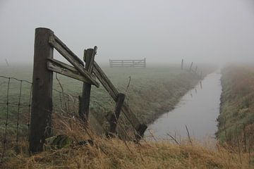 Texel Landschap 047 van Starworks Lien van der Star