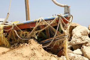 Schilderachtige boot in Griekenland