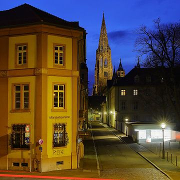 Gezicht op Freiburg van Patrick Lohmüller