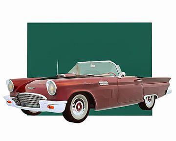 Klassieke auto – Oldtimer Ford Thunderbird