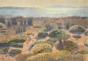Strand bei Vignasse, Die Goldenen Inseln, Henri-Edmond Kreuz