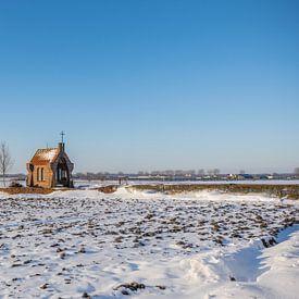 Chapelle dans la neige, Bemmel sur Patrick Verhoef