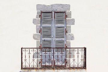 Luiken met balkon van Marcel van der Voet