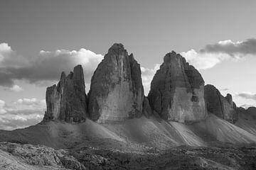 Drei Zinnen (Tre Cime di Lavaredo) von Marc Vandijck