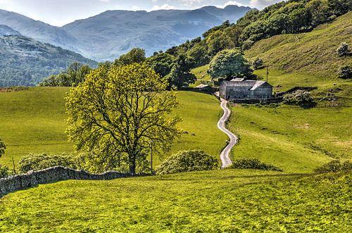 Lake District, vergezicht van
