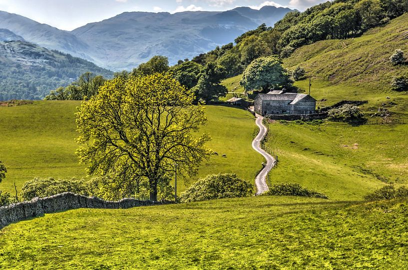 Lake District, vergezicht van Frans Blok