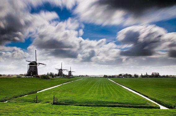 Lente in Nederland - Molendriegang van Ricardo Bouman | Fotografie
