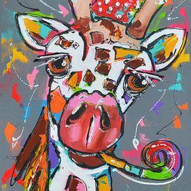 party giraffe van Corrie Leushuis