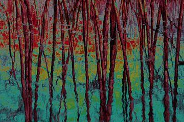 Dancing trees van Ina Muntinga