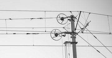 Tram kabels von Jurgen den Uijl