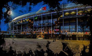 """Stade Feyenoord ART Rotterdam """"De Kuip"""" Avant sur"""