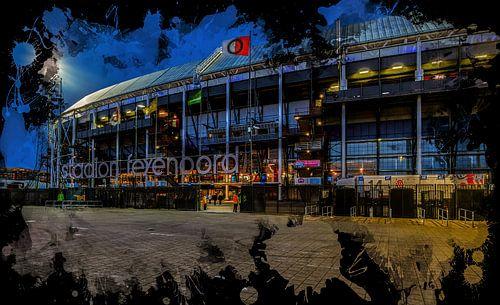 "Feyenoord ART Rotterdam Stadion ""De Kuip"" Voorkant"