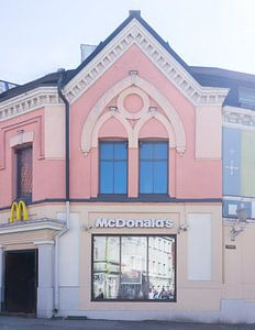 Mc Donalds in Tallinn, Estland van Anki Wijnen