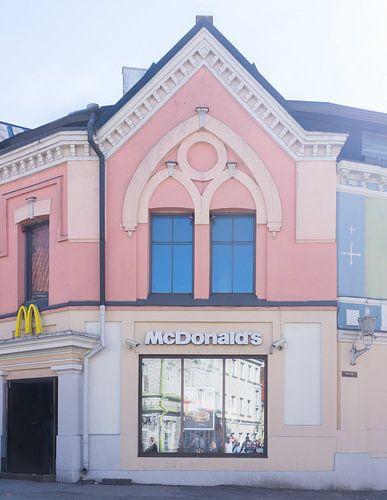 Mc Donalds in Tallinn, Estland van