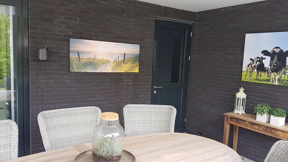 Photo de nos clients: Strandopgang sur Nico Zwanenburg, sur toile