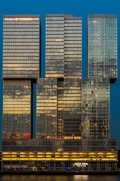 De Rotterdam op de Kop van Zuid in Rotterdam van Alexander Blok