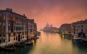 Mistige ochtend in Venetie
