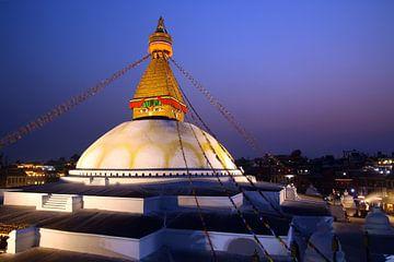 Stupa von Botnath van Gerhard Albicker