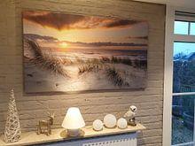 Kundenfoto: die Küste im Bild von eric van der eijk, auf leinwand