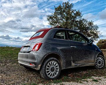 Stoere Fiat 500 van arjan doornbos