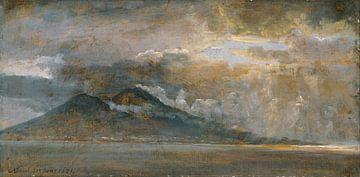 Der Golf von Neapel mit Vesuv, Johan Christian Dahl