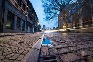 Ochtend fotografie van Gent de hoofdstad van Oost-Vlaanderen sur Marcel Derweduwen