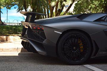 Lamborghini Aventador SV in Monaco van Liam Gabel