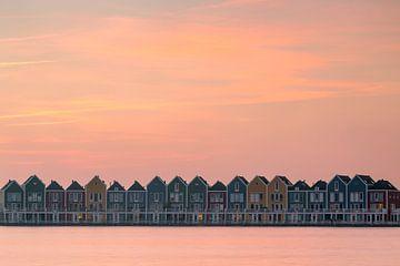 Zonsondergang Kleuren van Thomas van Galen