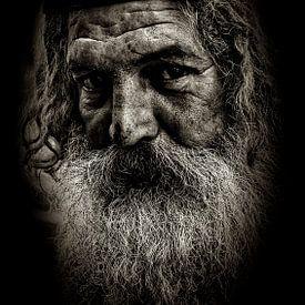Man met baard van Fotografie Arthur van Leeuwen
