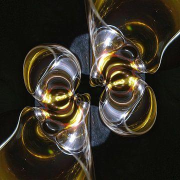 Schitterend glaswerk van Nina IoKa
