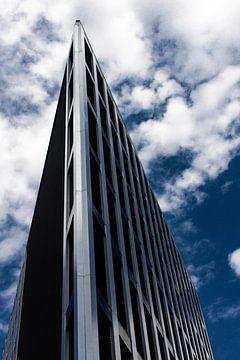 Immeuble de bureaux en architecture moderne sur Focus de Plaatjesmaker