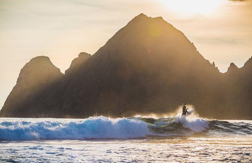 Surfen Sumbawa 3 van Andy Troy