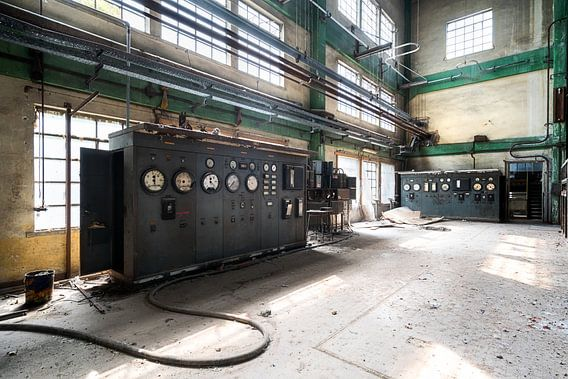 Verlaten Fabriek.