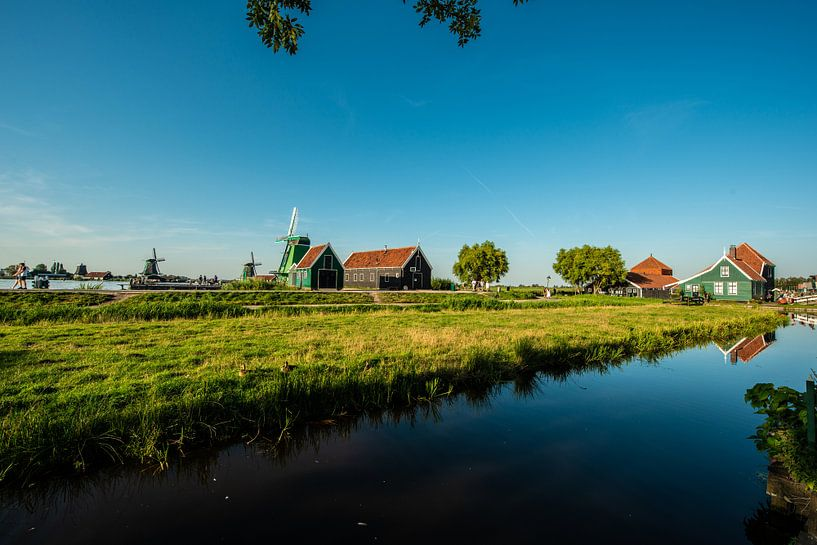 Zaanse Schans Holland van Brian Morgan